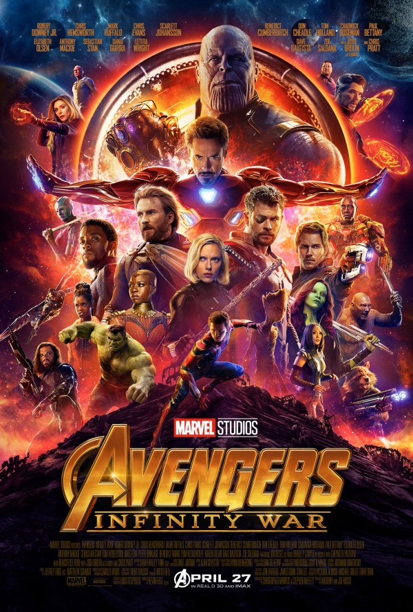 urutan film marvel - 19 - Avengers Infinity War