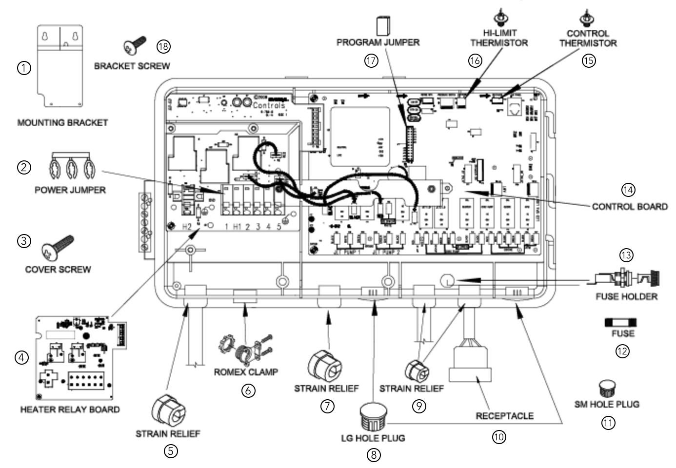 hot tub motor wiring diagrams