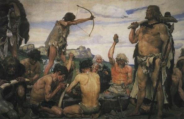 Kehidupan sehari-hari pemburu prasejarah. Banyak bertanya itu bisa merugikan