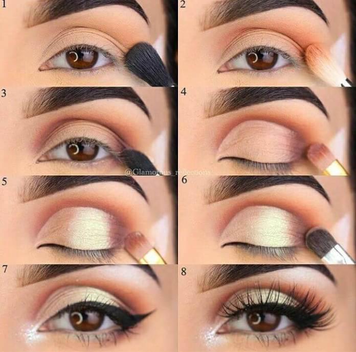 eyeshadow methods of makeup