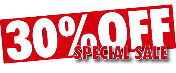 30% discount