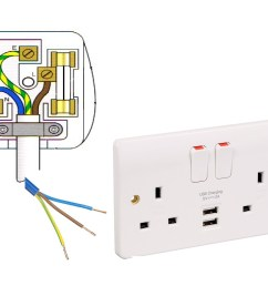wiring a socket plug wiring diagram name double socket wiring a outlet [ 1658 x 1246 Pixel ]