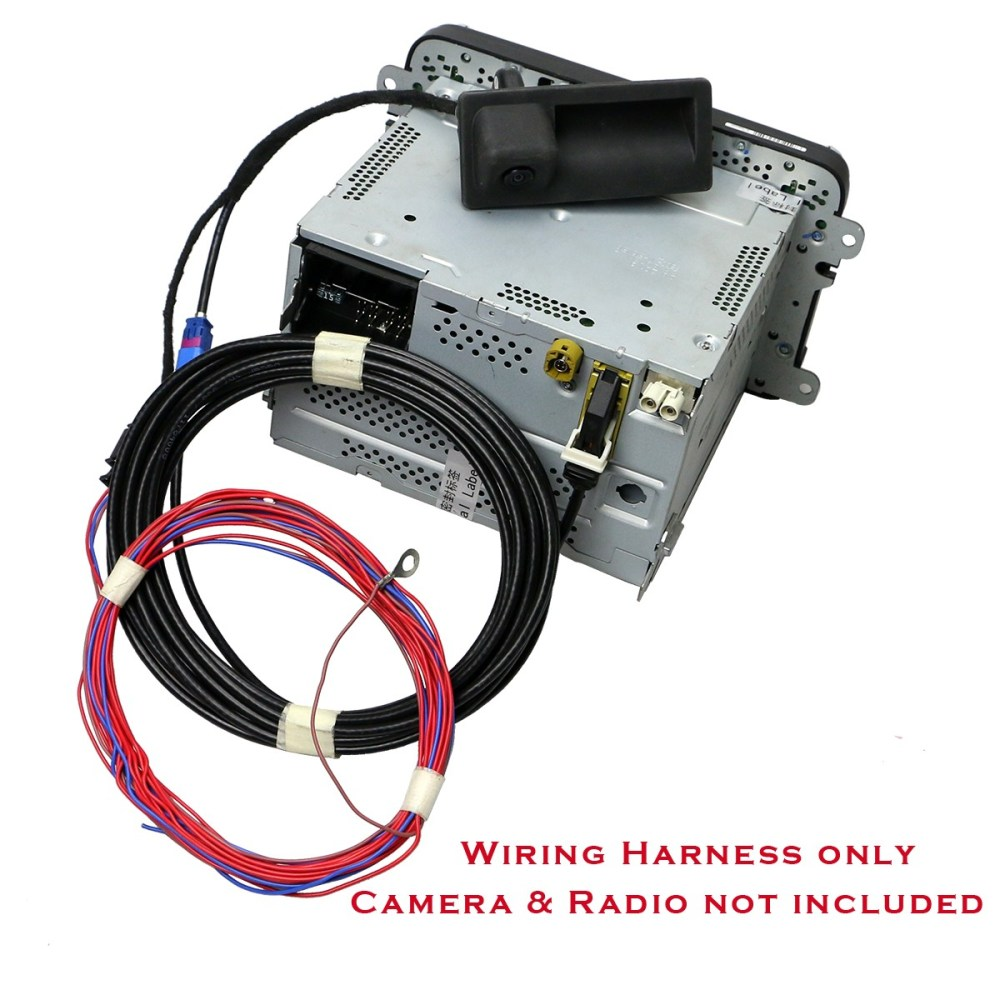 medium resolution of details about oem wiring harness for rgb rear view camera fit rcd510 no camera harness