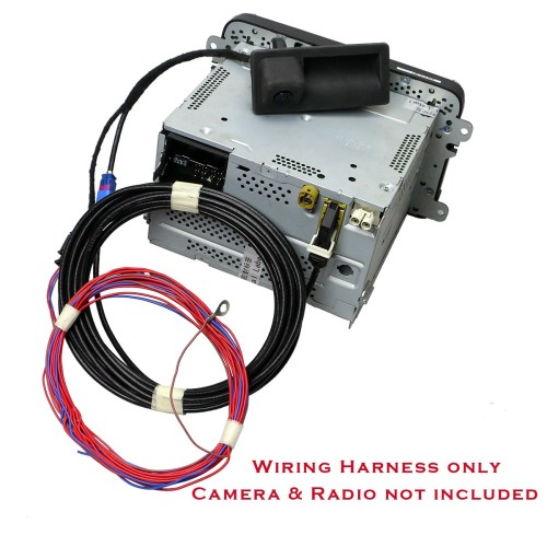 small resolution of details about oem wiring harness for rgb rear view camera fit rcd510 no camera harness