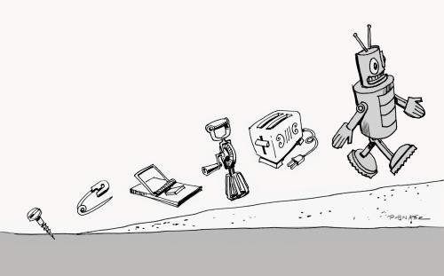 Evolusi menuju robot