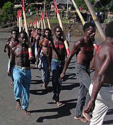 Ini ritual keagamaan, bukan parade militer