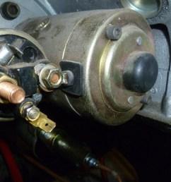 rover v8 starter motor wiring [ 1080 x 810 Pixel ]