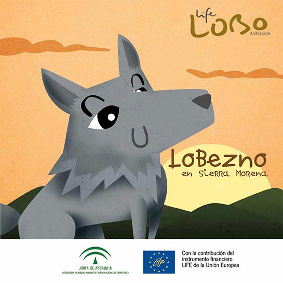 Life Lobo Andalucía acerca el lobo a los más jóvenes con un cómic y un cuento