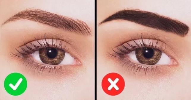 eyebrow methods of makeup