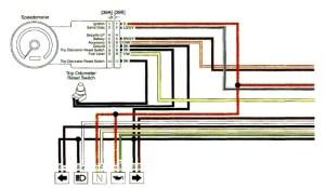 Combination Digital SpeedometerAnalog Tachometer  4