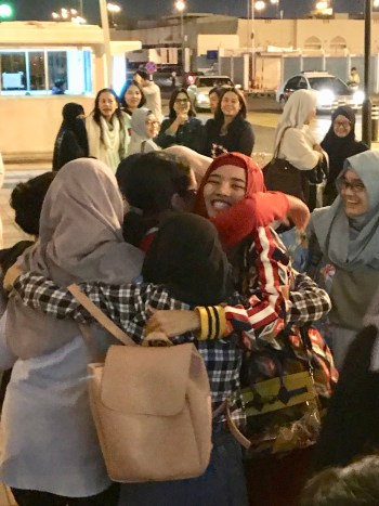 hijab hijaber girls hug future generation role model