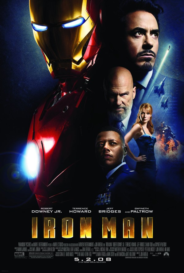 urutan film marvel - 2 - Iron Man