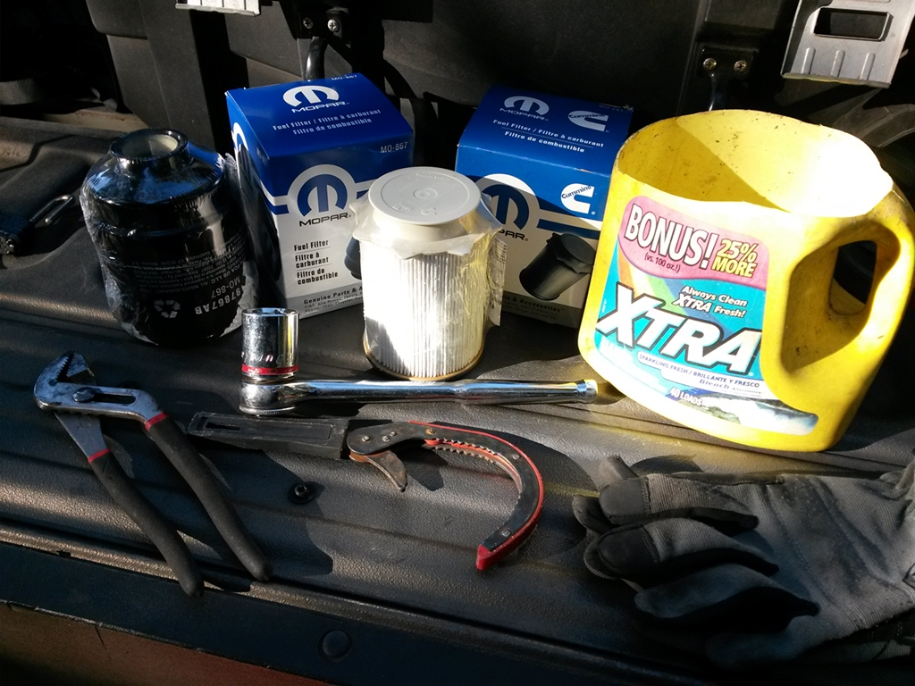 hight resolution of my fuel filter change kit