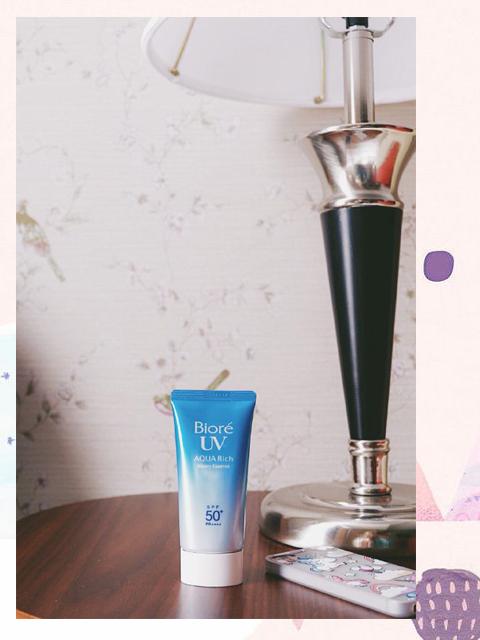 Biore UV Aqua Rich SPF 50 review Indonesia