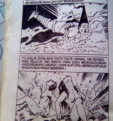 Siksa Neraka dalam satu komik