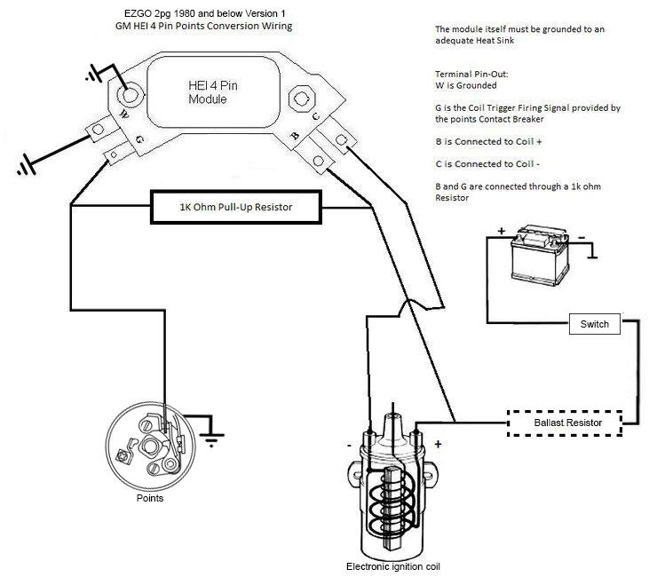 1981 Ez Go Wiring Diagram EZ Go Battery Wiring Diagram