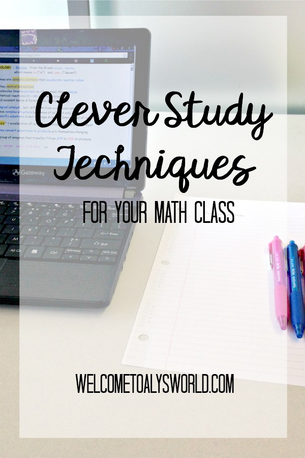 Clever Study Techniques for Your Math Class | People struggle with math because math requires a unique study method. The trick to succeeding in a math class is studying the right way. Here are some study tips that have helped me succeed in math classes over the years.