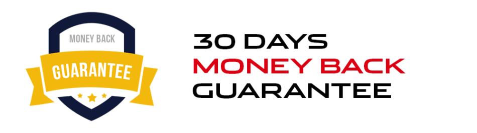 30 Dages Money Back Guarantee