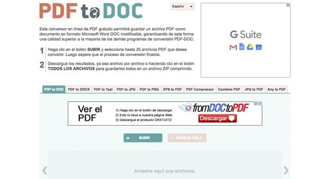 descargar convertidor de pdf a word full mega
