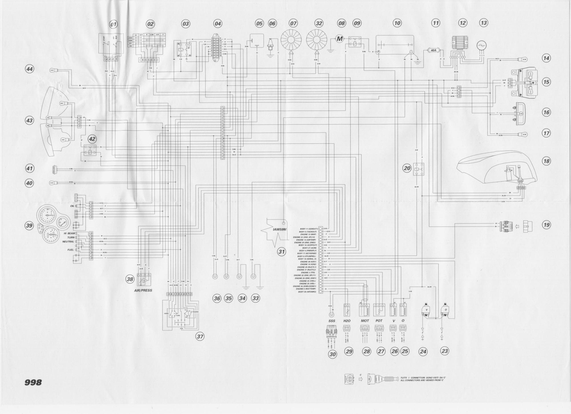 hight resolution of ducati 998 diagrama electrico a color aporte verucci wiring diagram ducati f1 wiring diagram