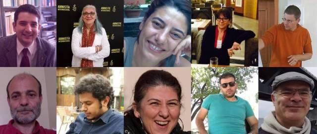 Continúa la farsa judicial en Turquía contra Taner y los 10 de Estambul