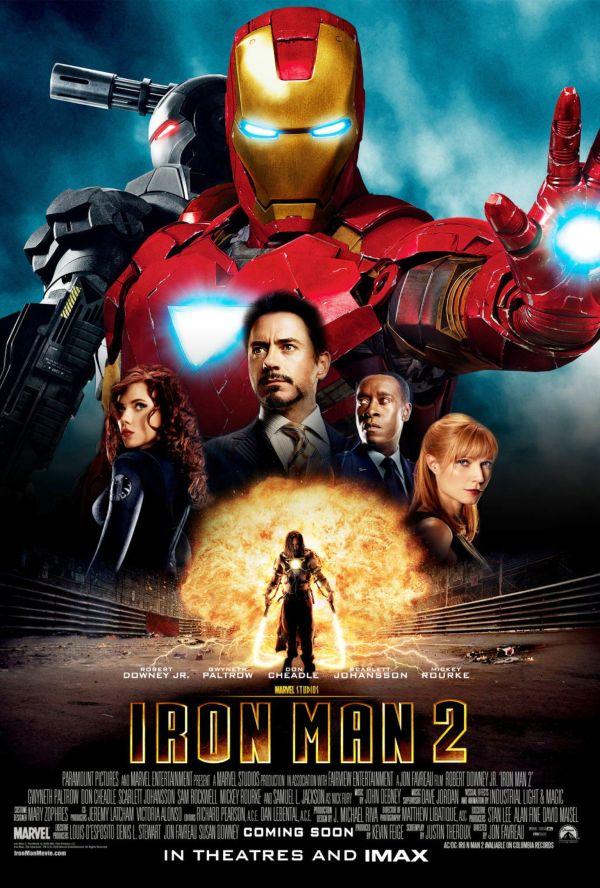 urutan film marvel - 4 - Iron Man 2