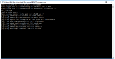 Webmail and Smtp Bruter