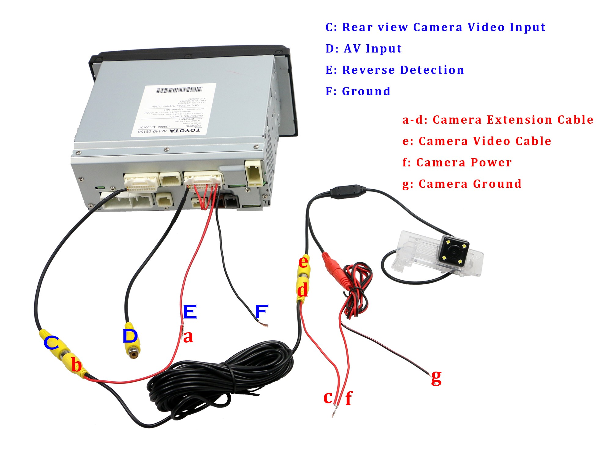 Stereo Wiring Colours Explained Head Unit Car Photo Harness Video Toyota Corolla Ex Cd Player Radio Bluetooth Rear