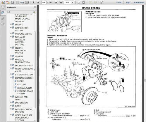 Mazda MX5 Miata Eunos MkI 1989-1998 Workshop, Service and