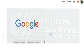 Uso de google