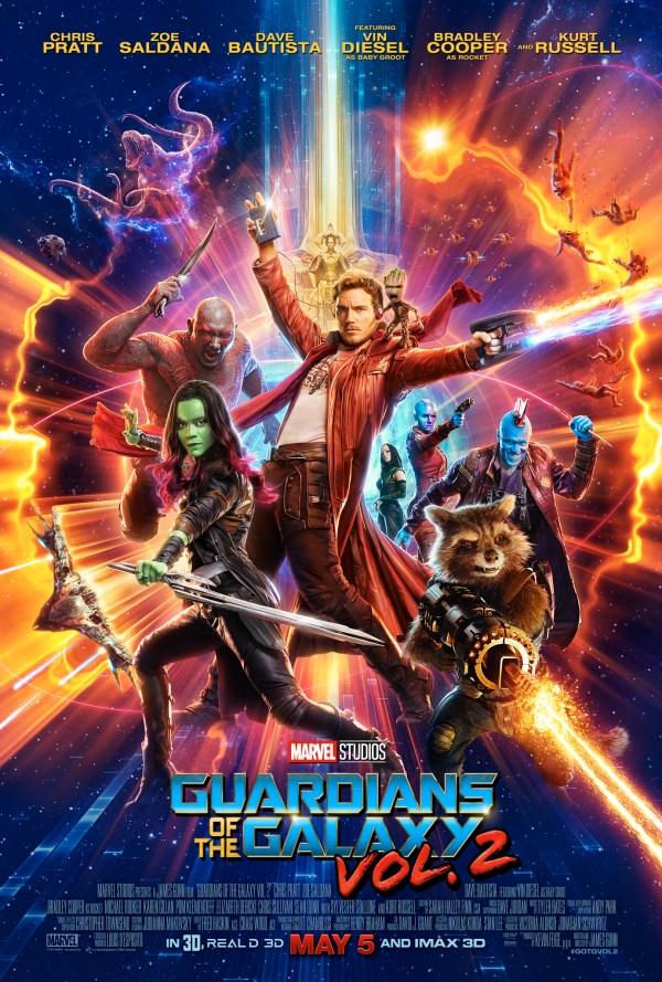 urutan film marvel - 15 - Guardians of the galaxy 2