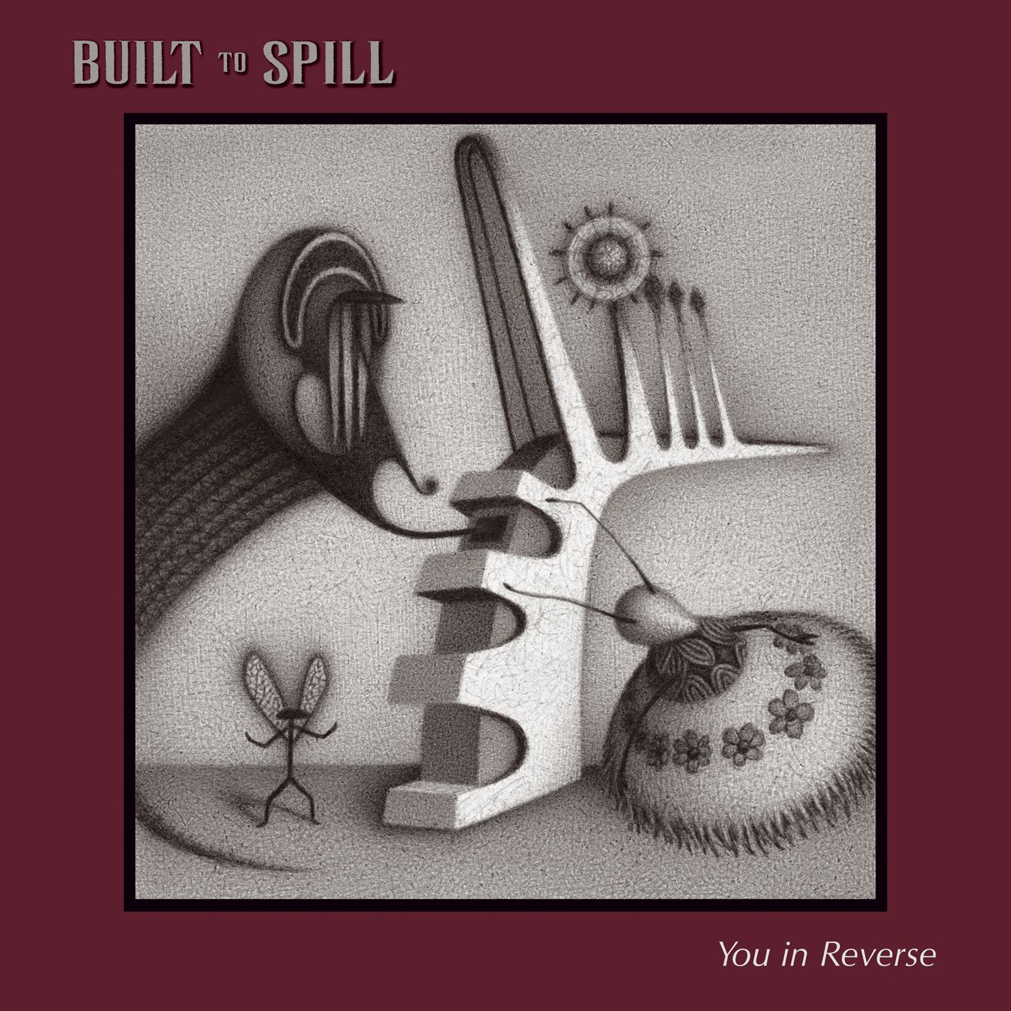 Image result for you in reverse built to spill cover
