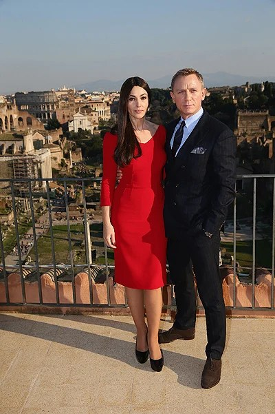 """""""SPECTRE"""" Photocall On Location In Rome, Italy"""