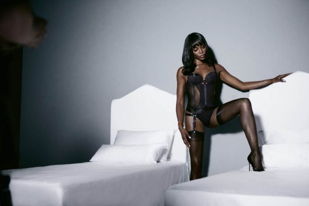IAMNAOMICAMPBELL by Yamamay, backstage (5)