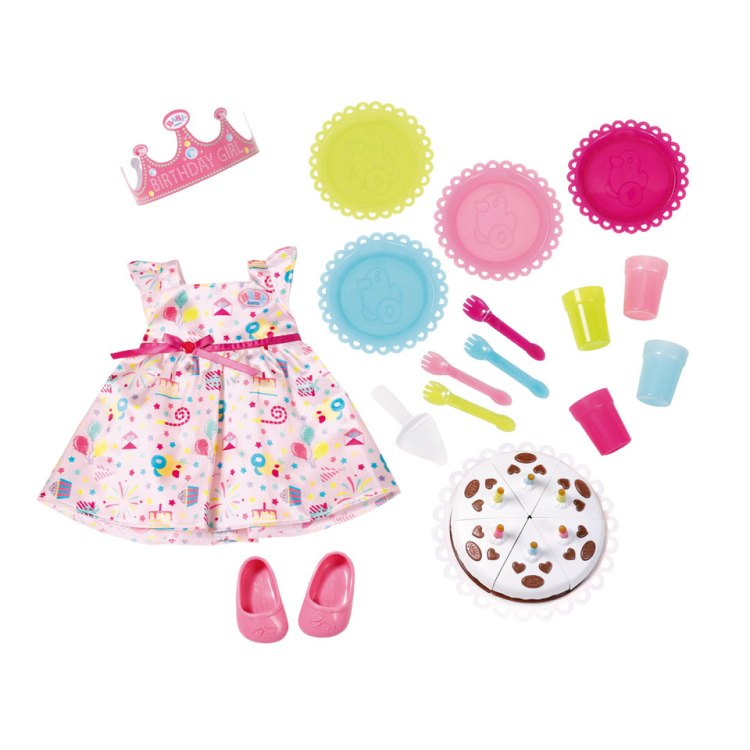 BABY born deluxe party kleding