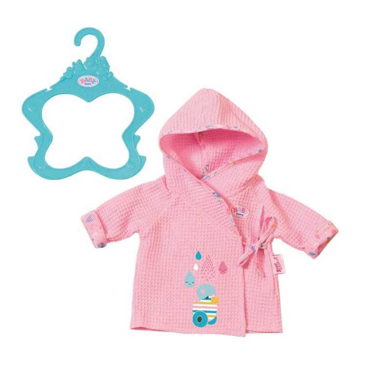 BABY born badjas - roze