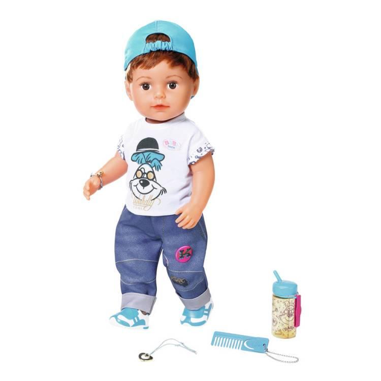BABY born soft touch pop broertje - 43 cm