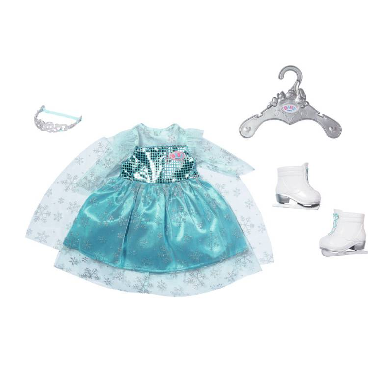 BABY born prinses op het ijs set - 43 cm