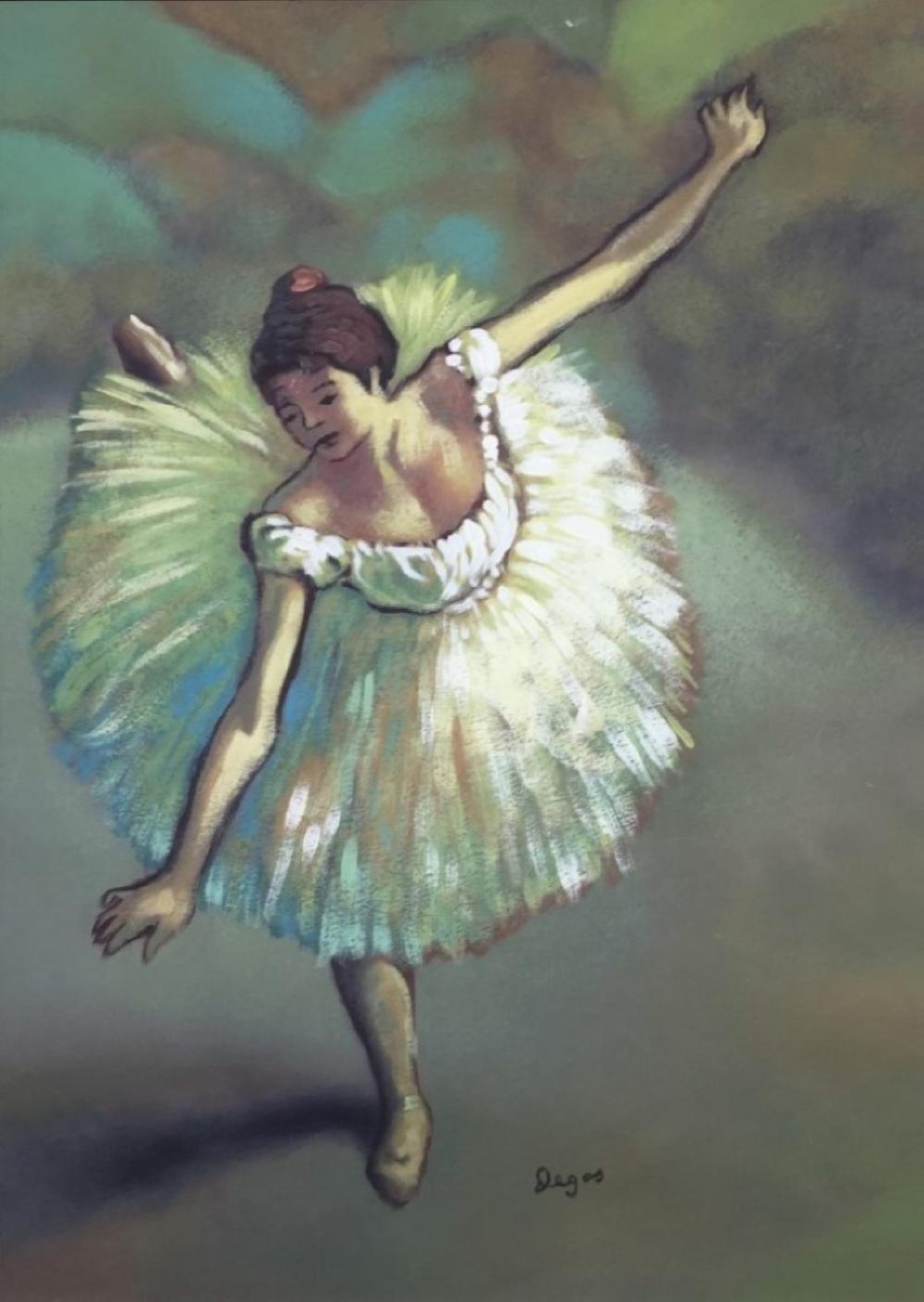 Famous Gouache Paintings : famous, gouache, paintings, Price:, Edgar, Degas, Gouache, Paper, September