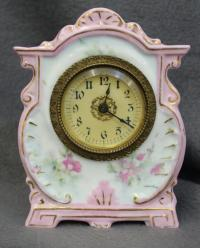 MINIATURE NEW HAVEN CLOCK LADIES NIGHTSTAND CLOCK 1905