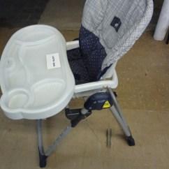 Evenflo Easy Fold High Chair Balcony Table And Sets Adjustable Heighth Back Tilt Lot 200