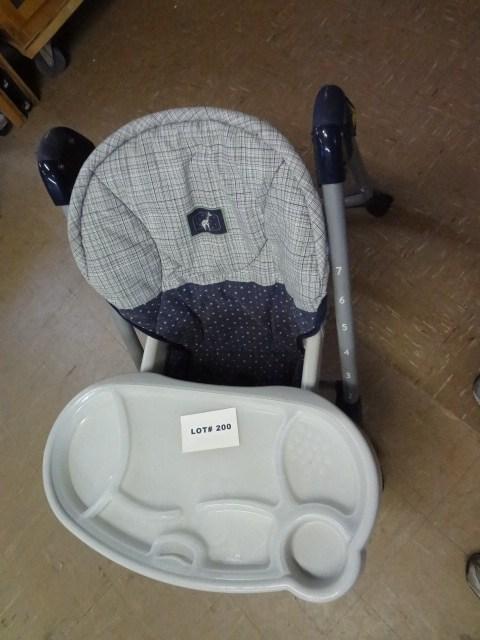 evenflo easy fold high chair fishing gumtree adjustable heighth and back tilt lot 200