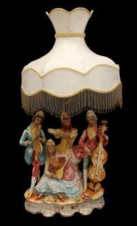Antique Porcelain Italian Lamp