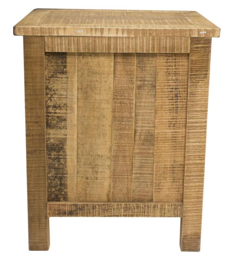 RUSTIC CABINET WITH IRON HARDWARE