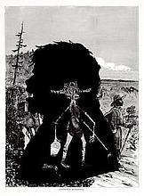 kara walker american born 1969 pack mules in the mountains from harper s pictorial history of the civil war annotated 2005