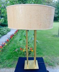 TOMMI PARZINGER MCM BRASS LAMP