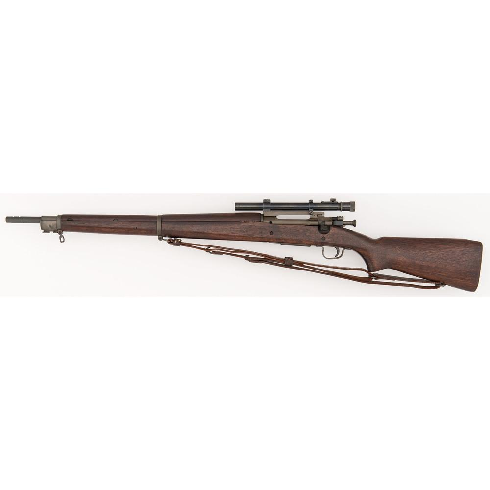 ** Remington US M1903A4 Rifle with Weaver Model 330 Scope