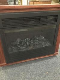 Heat Surge Electric Fireplace w/ remote, model # ADL-2000M-X