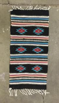 Native American, Mexican style colorful area rugs