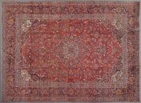 Kashan Carpet, 13' x 10'